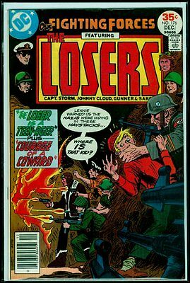 DC Comics Our FIGHTING FORCES #176 The LOSERS FN+ 6.5