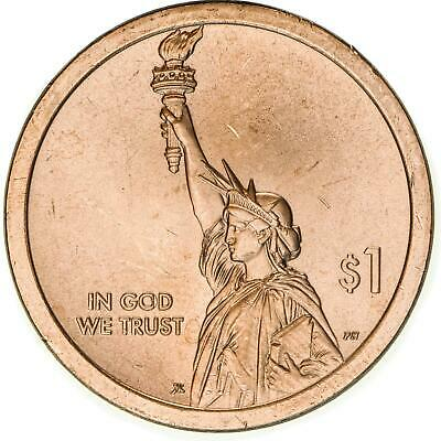 2018 P American Innovation Signed First Patent $1 BU Clad US Coin
