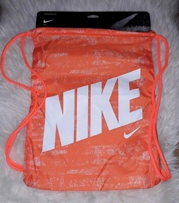 353c901fb0dcb Nike Turnbeutel in orange   Sporttasche   Beutel   Training NEU   OVP