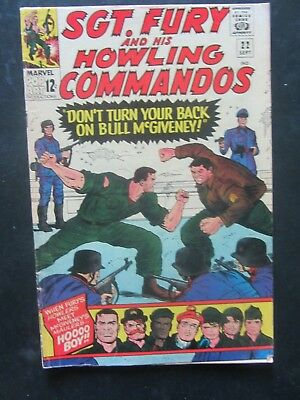 SGT. FURY & HIS HOWLING COMMANDOS #22 vg Marvel Silver Age 1 book lot
