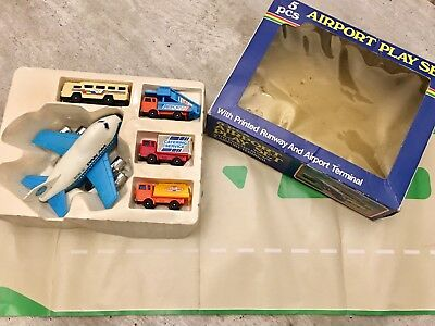 Airport Playset Pan Am 80er Jahre in OVP