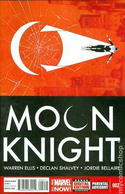 Moon Knight (5th Series) #2A 2014 Shalvey Variant VG Stock Image Low Grade
