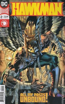 Hawkman (DC) #2A 2018 Hitch Variant VF Stock Image