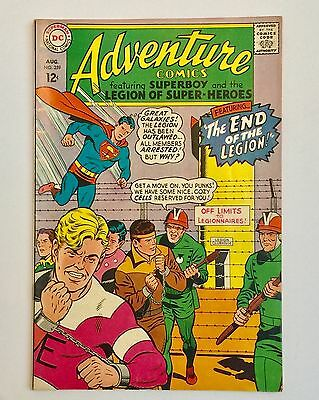 ADVENTURE Aug. 1967 DC Comics No. 359 SUPERBOY LEGION OF SUPERHEROES Silver Age