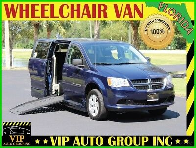 2013 Dodge Grand Caravan  2013 Dodge Handicap Wheelchair Van Braun Entervan XT Manual Side  Foldout Ramp