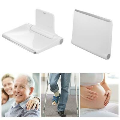 Wall Mounted Seat Shower Folding Bath Stool Toilet Chair Holds Up to 200kg