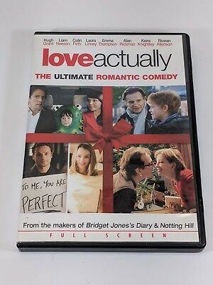 Love Actually (DVD, 2004, Full Screen)