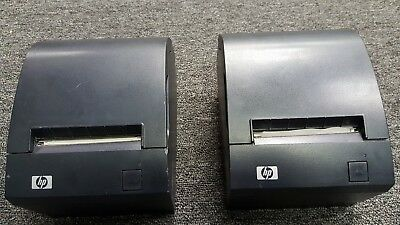 Pair of HP POS Point of Sale Thermal Receipt Printers A799-C40W-HN00