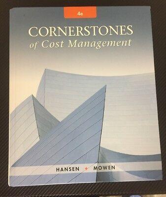 cornerstones of cost accounting hansen mowen