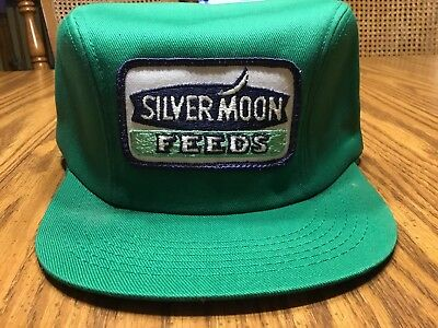 2d15026e0e1 Vintage new old stock silver moon feeds farmer patch hat winter cap ear  flaps jpg 400x300