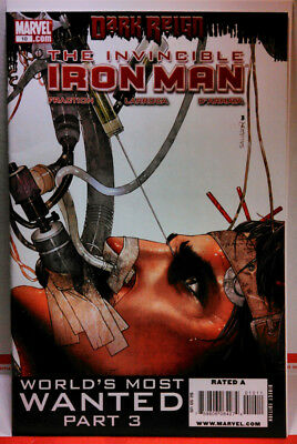 INVINCIBLE IRON MAN (2008) #10 KEY ISSUE 1st RESCUE Pepper Potts AVENGERS VF
