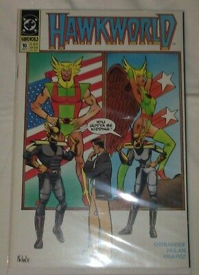 Hawkworld #10 VF/NM John Ostrander DC Comics Hawkman