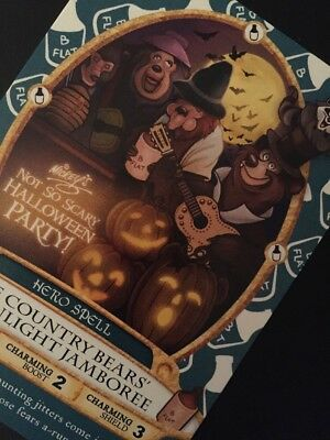 Card #11P/Sorcerer's Of The Magic Kingdom Card/2017 Halloween Event Party Card!