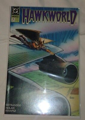 Hawkworld #11 VF/NM John Ostrander DC Comics Hawkman