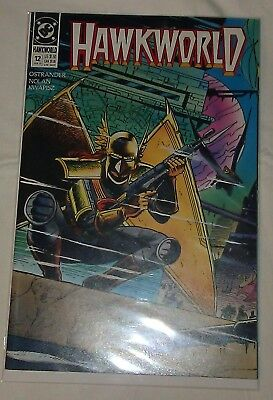 Hawkworld #12 VF/NM John Ostrander DC Comics Hawkman