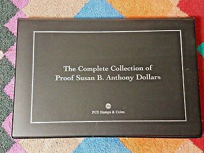 The Complete Collection of Proof Susan B. Anthony Dollars