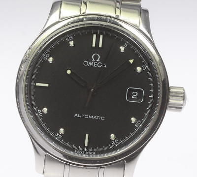 Omega Classic Date Black Letter Men's Automatic #CO157