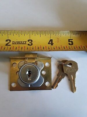 Old Slot Machine or Trade Stimulator Corbin Lock w/ Keys (new old stock)