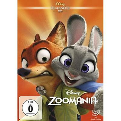 Zoomania (disney Classics) [DE-Version, Regio 2/B] - Disney DVD NEU