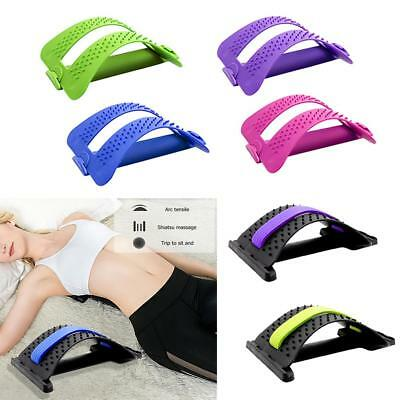 Magic Back Support Stretcher Extender Massager Trigger Point Pain Reliever Mate