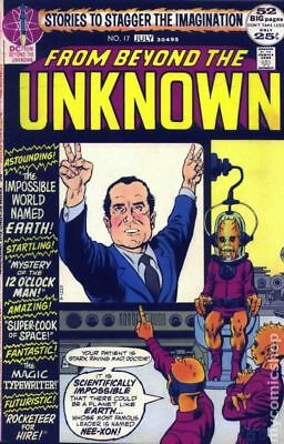 From Beyond the Unknown #17 1972 VG+ 4.5 Stock Image Low Grade