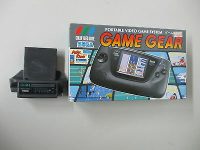 GG JUNK Game Gear Console Boxed & TV Tuner SEGA Lot of 2 JP No.547