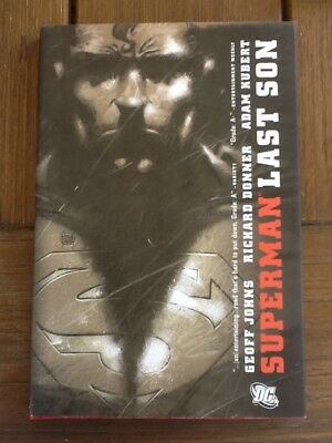 Superman Last Son Hardcover from 2008 Geoff Johns & Richard Donner 3D