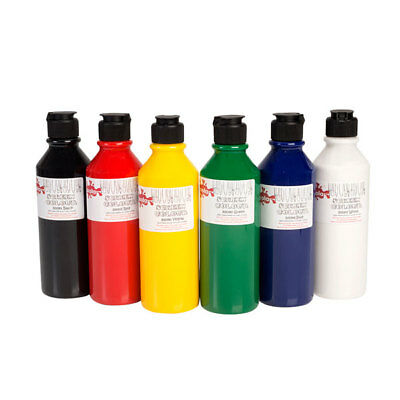 Scola PSI300/6/A Screen Printing Ink 6 x 300ml