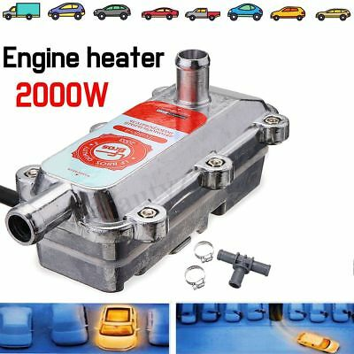 220V 2000W Engine Heater Car Preheater Coolant Heating Truck Parking Heater