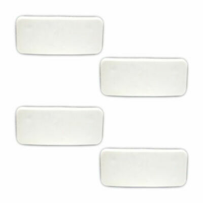 UPVC Cockspur Wedge Kit - 3mm, 4mm, 5mmm & 6mm Wedges included - White - Branded
