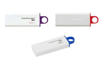 Pendrive Usb 3.1 Kingston Chiavetta  16 Gb 32 Gb 64 Gb  Memoria 3.0