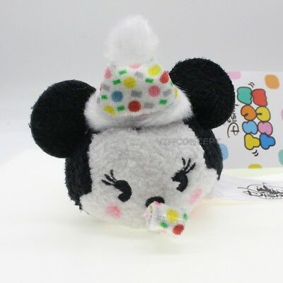 Authentic Hong Kong Disney Minnie Tsum Tsum of Mickey Mouse 90th anniversary
