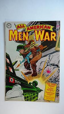 All American Men Of War #13 Fr/gd 1.5 (Dc 1952 Series) Nazi Wwii Cover
