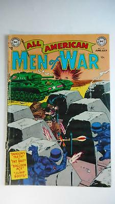 All American Men Of War #11 Vg- 3.5 (Dc 1952 Series) Nazi Wwii Cover