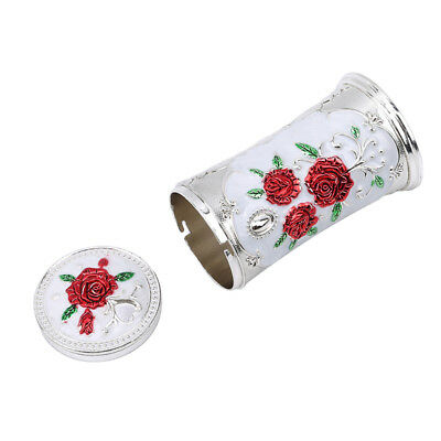 Vintage Fashion European Classical Zinc Alloy Style Rotary Toothpick Holder 8C