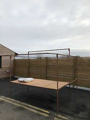 Market Stall Frame, Table Top And New Tarpaulin