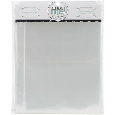 "Misc Me Page Protectors 8""x6"" 40/pkg-variety Pack"
