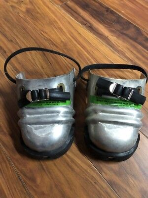 Pair Ellwood Sankey steel toe shoe protectors safety guards foot covers