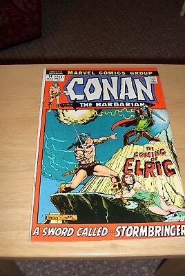 Conan the Barbarian #14 Marvel March 1972 Elric Moorcock Barry Smith Fine