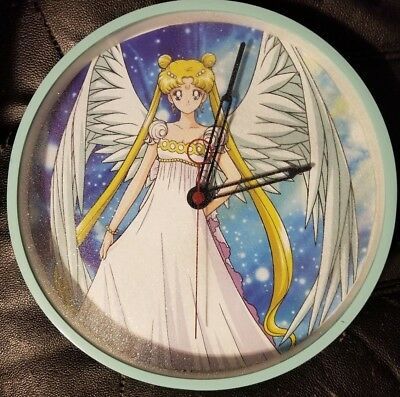 Sailor Moon Princess Serenity Ooak Wall Clock