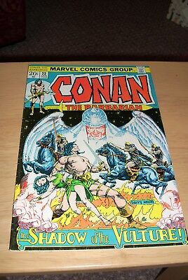 Conan the Barbarian issue 22 Marvel January 1973 Bronze Age Fine Condition Cents