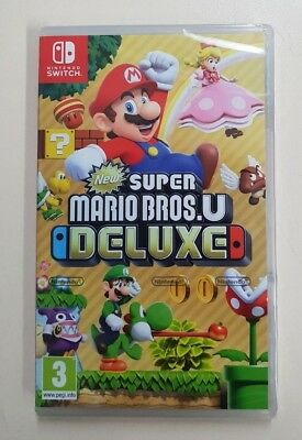 New Super Mario Bros. U Deluxe - Nintendo Switch - New & Sealed - Fast Dispatch