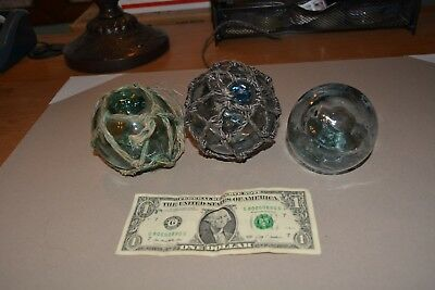 Vintage Glass Buoy Balls Japanese