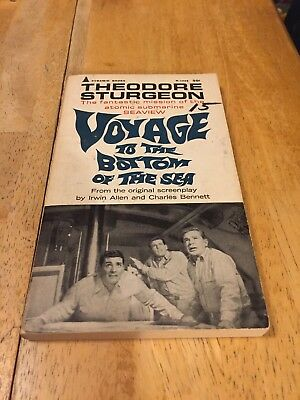 VOYAGE TO THE BOTTOM OF THE SEA Theodore Sturgeon Pyramid P-1068 PB 1967 4th