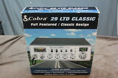 Cobra 29LTDCLASSIC 29 Ltd Classic 40 Channel Mobile CB Radio With Delta Tune