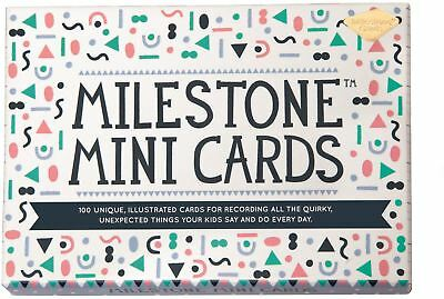 Milestone Cards Mini Cards Baby/Toddler/Child Gift Baby Shower Present New