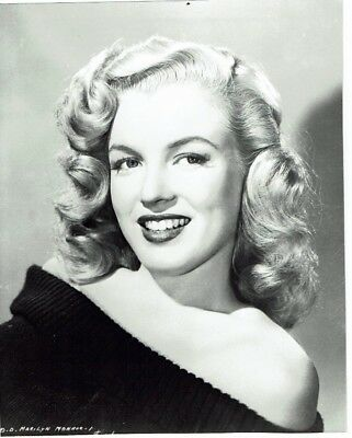 Marilyn Monroe American Actress Portrait Photograph 9 x 7   #1