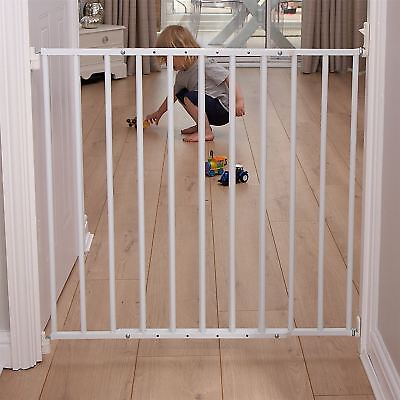 Clippasafe EXTENDABLE NO TRIP GATE METAL 60-107CM Baby Safety Gate BN