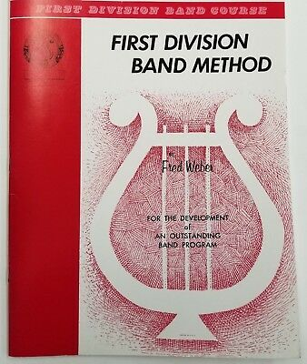 First Division Band method Part 1 (Alto Clarinet)
