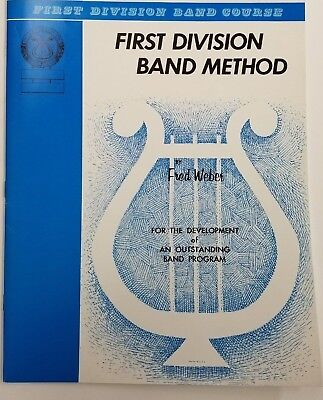 First Division Band Method Part 2 (Oboe)